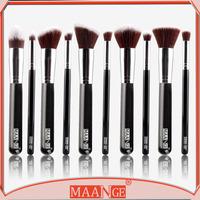 High end MAANGE makeup brush 10 pcs kabuki brush beauty needs makeup brush set