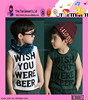 2015 Summer New Arrival Wholesale High Quality Fashion Super Soft Baby Boy Sleeveless Cotton T-shirt