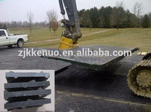 High quality heavy duty hdpe plastic hdpe outrigger pads/ crane leg support pads/ temporary roadways manufacturer