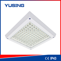 china ebay100-240v IP43 4w/6w/8w/12w square LED ceiling light and fan for bathroom