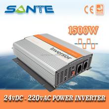 Factory Price DC24V to AC220V modified sine wave 1500W inverter, 1500W converter