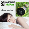 sleep monitor wrist watch cell phone,waterproof android smart watch with pedometer