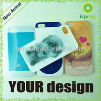 2013 factory supply,custom 3d phone case, imd tpu case for iphone 5