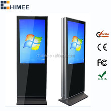 42inch lcd digital display dual screen stand all in one computer