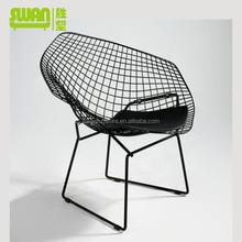 2189 popular modern design metal wire chair