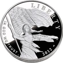 2012 liberty silver coin