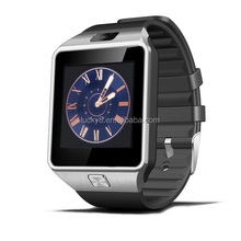 OEM&ODM silver External memory 32GB DZ09 Single SIM Smart Watch Phone with Phonebook / call log / message/ music sync