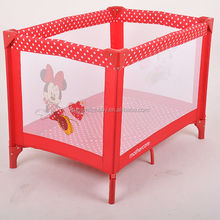 Plastic part Material and Playpen Type baby playpen/retractable safety foldable baby bed baby day care