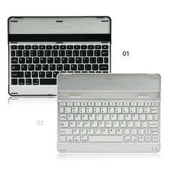 Aluminium Alloy Bluetooth Wireless Keyboard for iPad 4 3 2