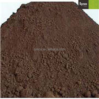 High quality iron oxide pigment colorant for wood mulch