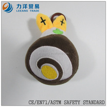 promotional toys/plush fruit/ fantastic toys fruit with plastic hook, Customised toys,CE/ASTM safety stardard