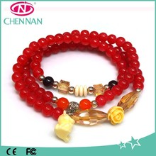 Yiwu Hot Europe Design Hand Crystal Chain bracelet charms wholesale