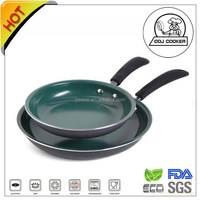 ODJ Cooker Hard Anodized Green Ceramic Fry Pan As Seen On The TV
