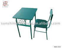 Single Kids Study Table / Children School Desk and Chair