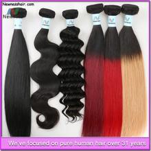 5A 6a 7a 8a blonde virgin hair weave white women wholesale brazilian hair extension