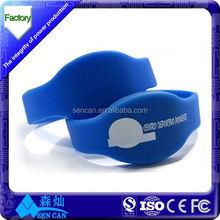 Good elasticity 125KHz TK4100/EM4100 rfid bracelet for access control