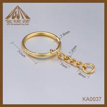 Fashion high quality 25mm metal split key rings,metal split ring