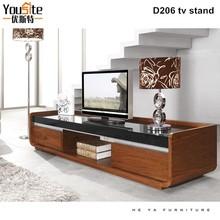 Space saving living room furniture lcd tv wall units