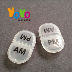 YYP2001 Low Price For Promotional Plastic 1 Day AM/PM 2 Compartment Pill Boxes