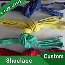 new design high quality crazy shoe laces with plastic tips