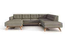 U shape Luna Sectional Sofa For Living Room