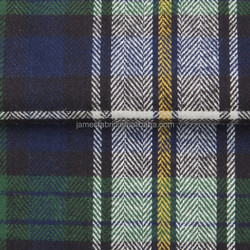 100% Cotton Twill Shirting Fabric, Flannel/Two-side Brushing big Check Fabric