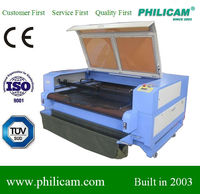 CNC CO2 Acrylic / Plastic film / Maple plywood / Screen protector / nameplate / fabric laser cutting machine 1225 price