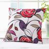 Wholesale bedroom decorative satin fabric cotton filled cushion