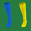 Knee High Compression Closed Toe Socks Men's Support Stockings