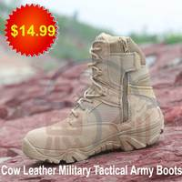 suede cross-country marching mission coyote tan tactical desert boots