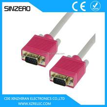 vga 25 pin cable/vga cable max resolution/vga cable color code