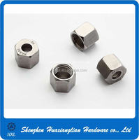 Factory supply stainless steel round head pipe nut with good quality