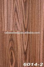 a prueba de agua de pvc tablón de madera de color