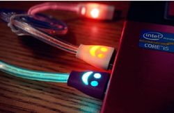 China supplier in Alibaba LED light phone lighting cable 1 meter