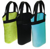 Two Pack Neoprene Wine Bottle Cooler Bag Tote CBB-008