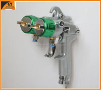 2015 ningbo very popular electronics double nozzle spray gun