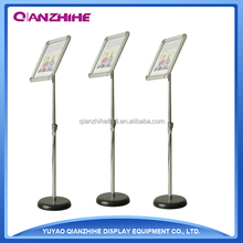 Adjustable Metal Display Stand with A4 Plastic Poster Frame