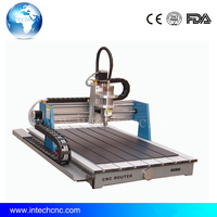 Hobby cnc router 6090//used cnc wood carving machine intechcnc cnc machinery