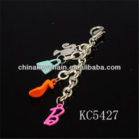 Gifts Promotional Items Metal Cute charm painting Keychain