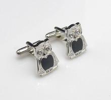 Silver Owl Cufflinks