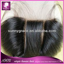 precio barato de mongolia virgen del pelo de mongolia trenza del pelo humano mongol cierre de pelo