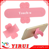 YJ003 3M sticky silicone cell phone stand