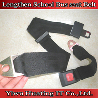 2 points lengthen school bus car seat belt extension