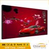 High brightness backlit frameless textile LED board fabric advertising outdoor light box