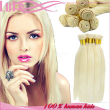Virgin Can Be Dyed Fast Shipment Direct Factory Remy Virgin White Girl Hair Extension