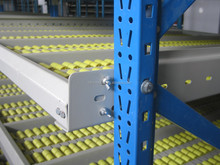 selective heavy duty pallet rack- carton flow rack storage system