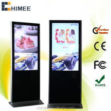 47'' Supper Slim Standing LCD Advertising Player Full HD 1080P