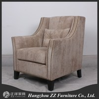 Classic french style furniture design living room fabric sofa
