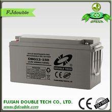 gel lead acid sealed maintenance free 12v 150ah battery for ups
