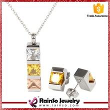 simple jewellery set artificial bridal jewellery set